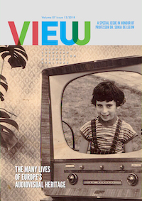 VIEW Cover: Hidden Professions of Television